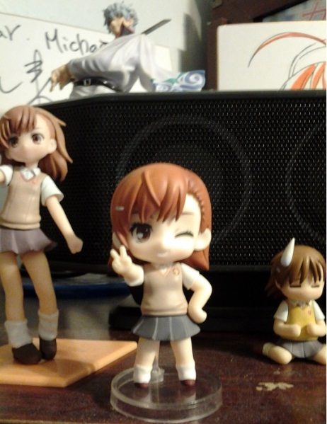 If you use her as a normal nendo she'll look like this. Moe!