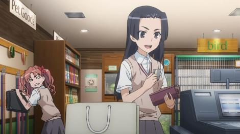 Unlike Kongou Mitsuko, who was cute when she bought some stuff with a credit card, given she's only 13 years old.