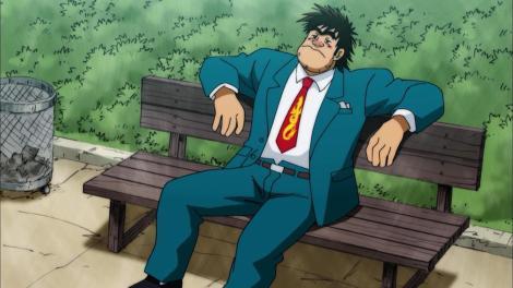 rowdy-sumo-wrestler-matsutaro-abarenbou-rikishi-matsutarou-matsutarou-sakaguchi-interview-suit-park-bench-sad