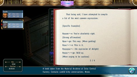 Trails has the deepest lore.