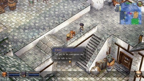 Here's a tip: not only should you talk to every single NPC you find (and you should be exploring everywhere so you'll find a lot!), but be sure to talk to them AGAIN every single time you take a step in the story. I don't mean a big step either - that's also included, but even the tiniest of progress in the main storyline will give these characters updated dialogue.