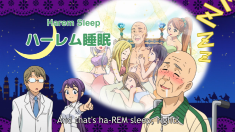 harem sleep