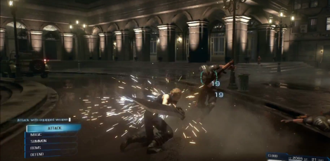 Love the over the top sparks and particle effects in the whole combat sequence of the trailer.