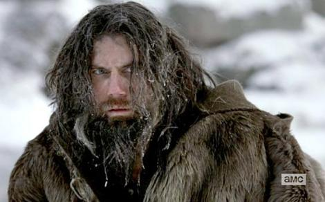 At one point, Bohannon becomes an insane ice-man living in the wilderness alone for no actual reason while punching wolves.